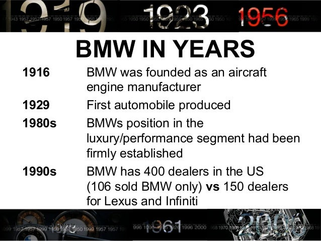 Bmw films case study analysis