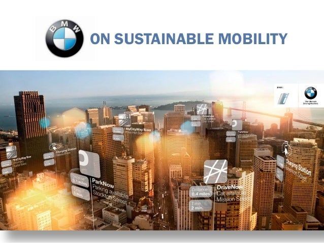 ON SUSTAINABLE MOBILITY
