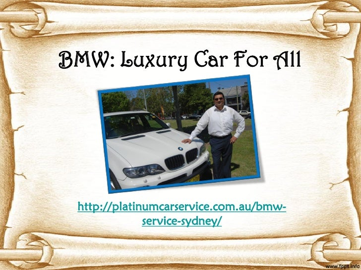 BMW: Luxury Car For All http://platinumcarservice.com.au/bmw-              service-sydney/