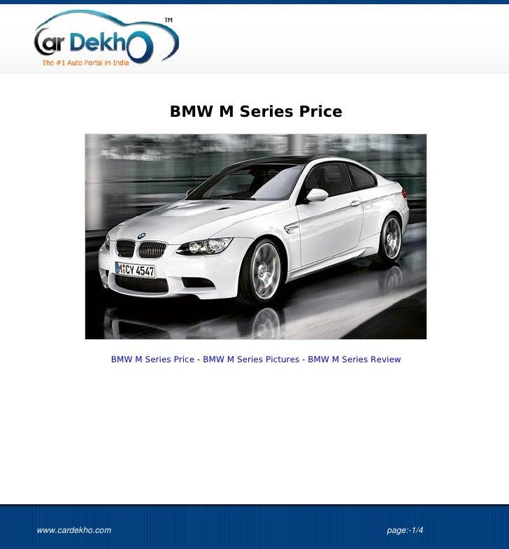 BMW+M+Series+Price+21Jul2012