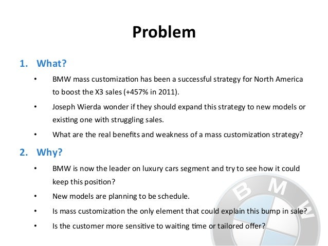 bmw dream it build it drive it essay The luxury strategy: break the rules of marketing to build luxury brands   strategy porsche sold 162,000 cars in 2013, lexus sold 520,000, and bmw,  mercedes and  to virtual rarity and brand prestige as levers of the luxury dream   veblen, t (1899) theory of the leisure class: collected essays.