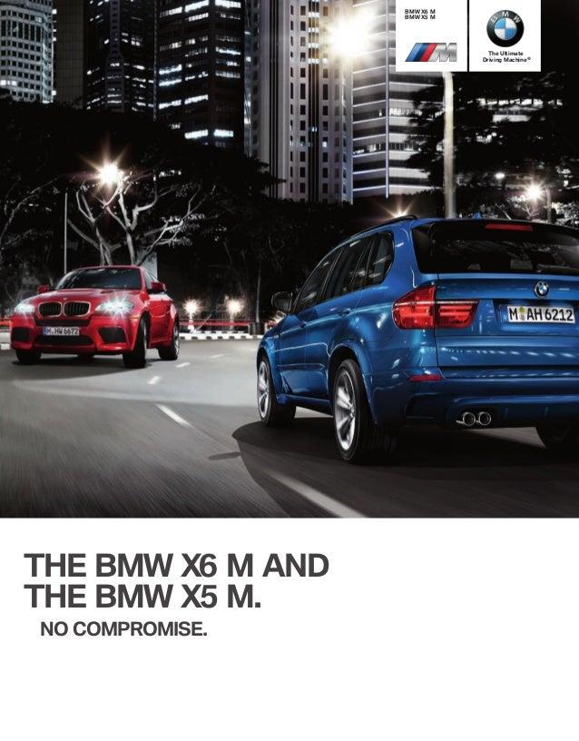 Brochure BMW X6M 2013
