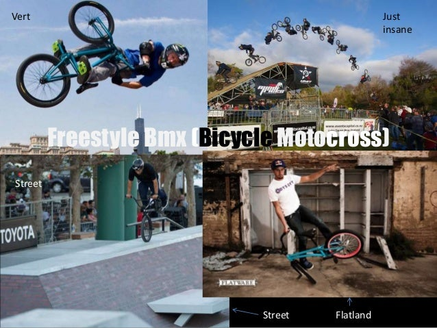 What is Freestyle BMX