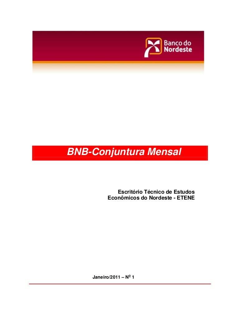 Julho 2009, n.07                   BNB-Conjuntura Mensal                                Escritório Técnico de Estudos     ...