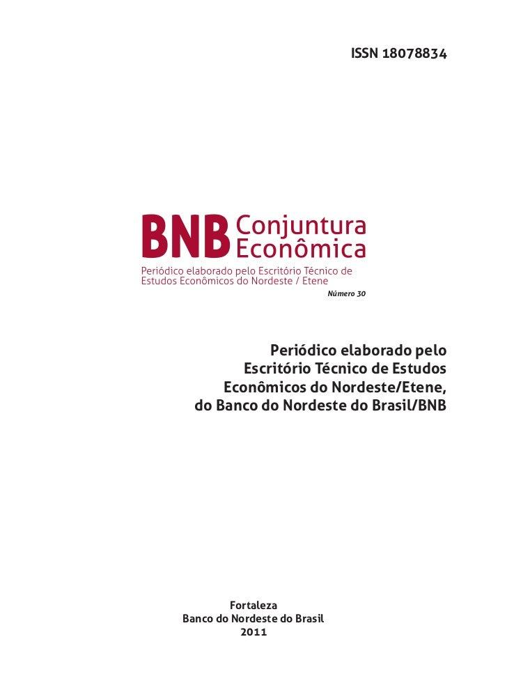 ISSN 18078834                              Número 30             Periódico elaborado pelo         Escritório Técnico de Es...