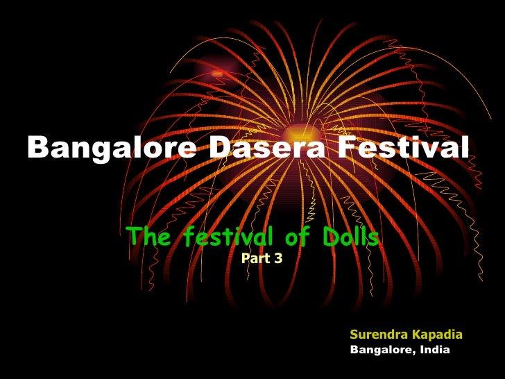 Bangalore Dasera the Fesitval of Dolls Part 3