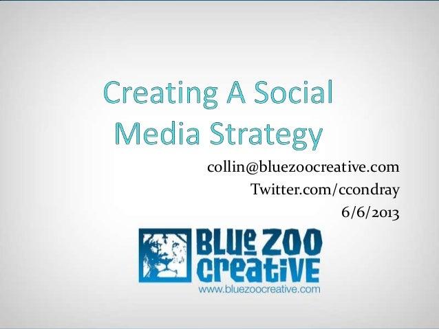 Basic Social Media Strategy for BNI NWA Network Builders