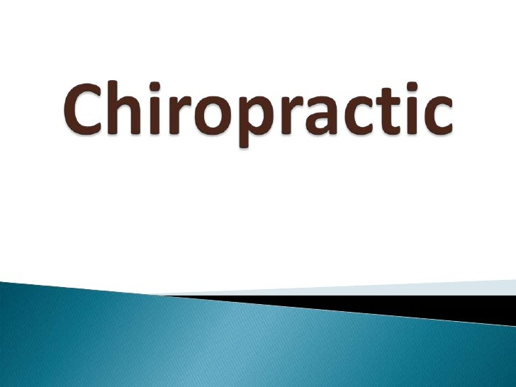 Chiropractic<br />