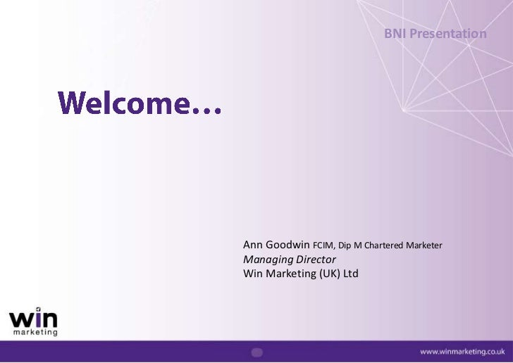 Web Marketing's approach for Win Marketing
