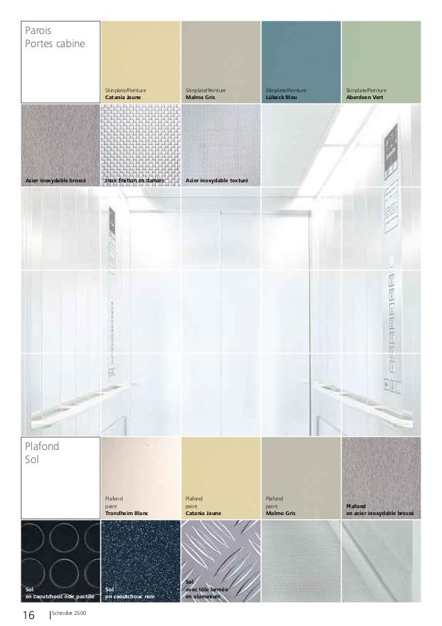 schindler 2500 fr. Black Bedroom Furniture Sets. Home Design Ideas