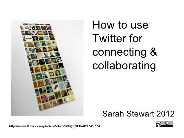 Workshop for health professionals: How to use Twitter for connecting & collaborating