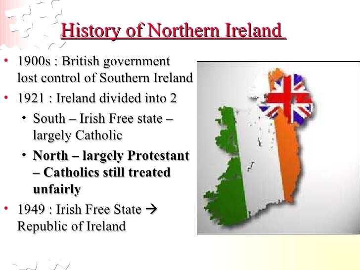 an introduction to the history of northern ireland Introduction this one focuses on northern ireland  i think that when teaching  about northern ireland and its history it is very important to make sure that you.
