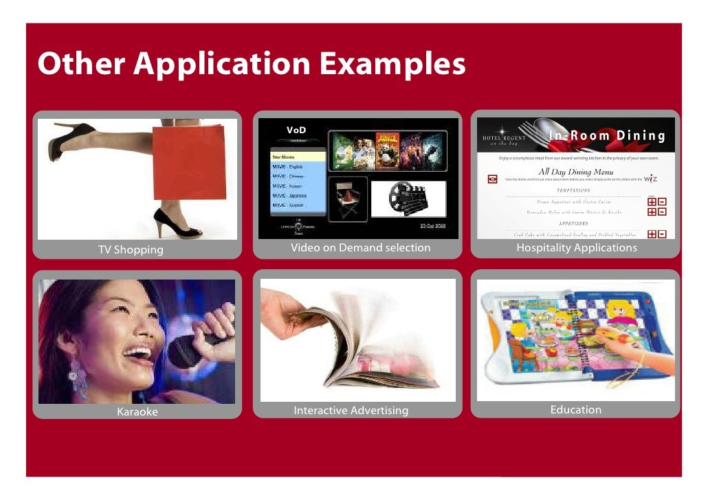 Other Application Examples Vod
