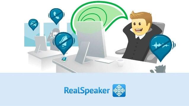 RealSpeaker Final Presentation on DemoDay StartupSauna Batch Spring 2014