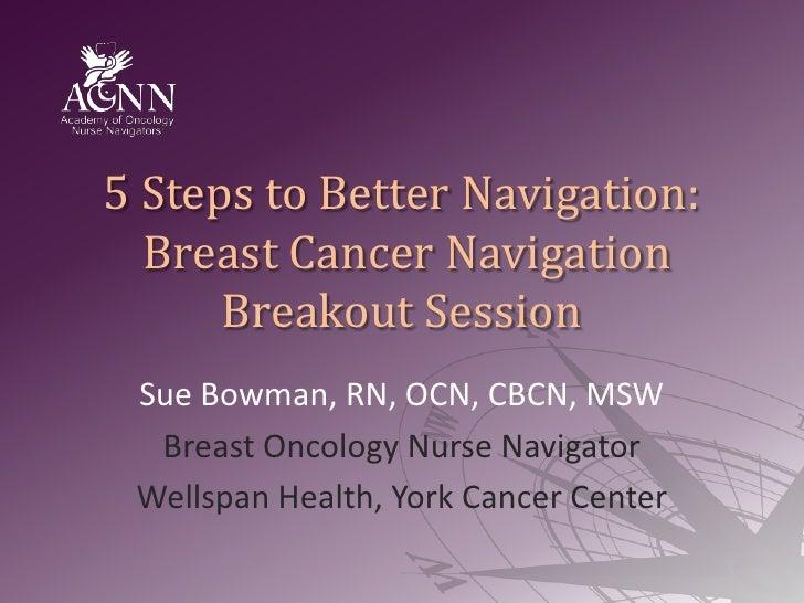 Breast Cancer Navigation