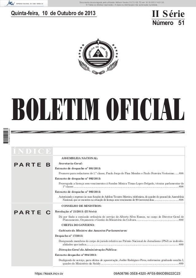 Documento descarregado pelo utilizador Adilson Varela (10.73.102.72) em 10-10-2013 14:01:30. © Todos os direitos reservado...