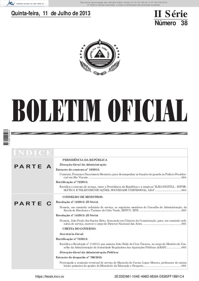 Documento descarregado pelo utilizador Adilson Varela (10.73.103.139) em 12-07-2013 08:43:23. © Todos os direitos reservad...