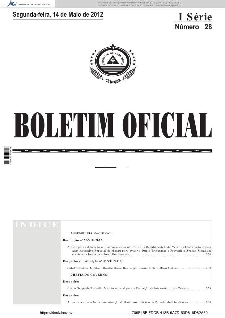Documento descarregado pelo utilizador Adilson (10.8.0.12) em 18-05-2012 09:25:22.                                        ...