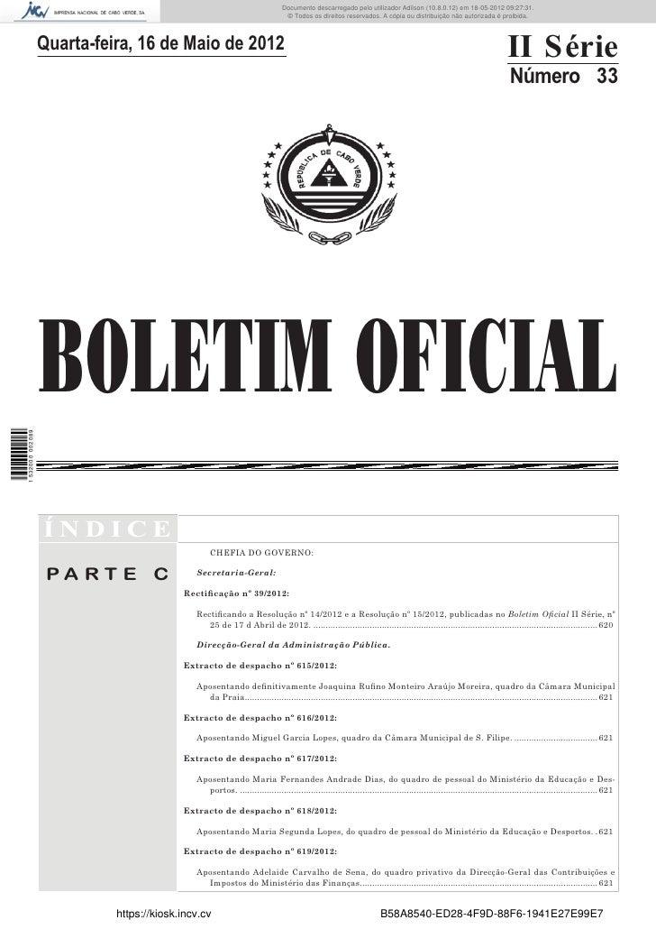 Documento descarregado pelo utilizador Adilson (10.8.0.12) em 18-05-2012 09:27:31.                                        ...