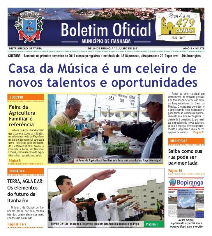 Boletim Oficial de Itanhaém 178