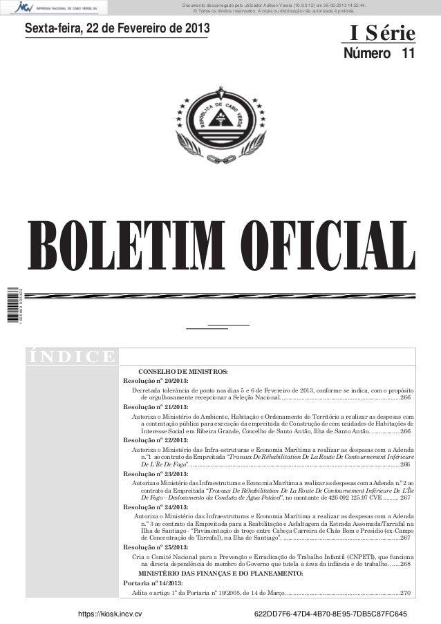 Documento descarregado pelo utilizador Adilson Varela (10.8.0.12) em 26-02-2013 14:52:44. © Todos os direitos reservados. ...