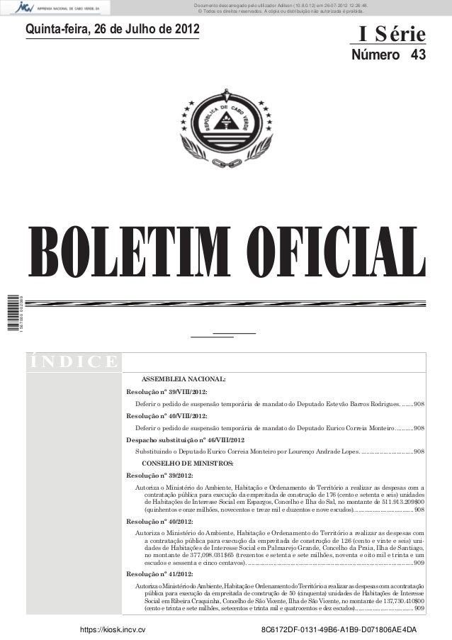 Documento descarregado pelo utilizador Adilson (10.8.0.12) em 26-07-2012 12:26:48.                                        ...