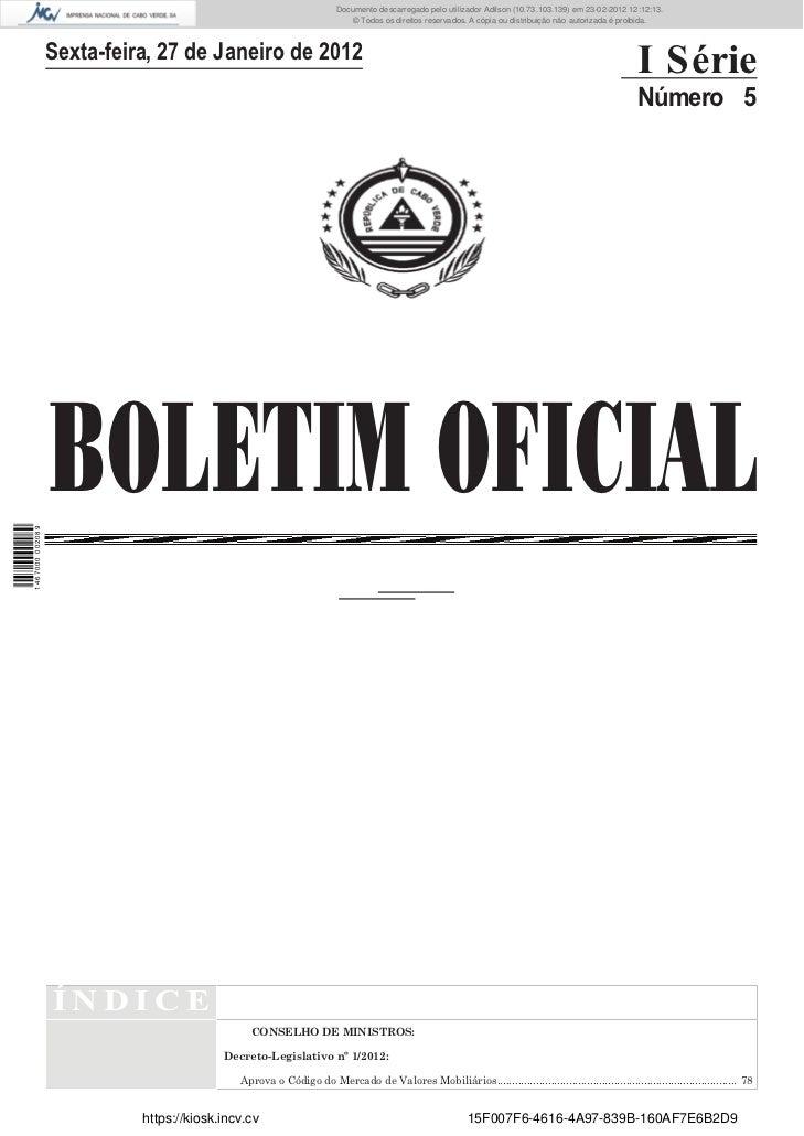 Documento descarregado pelo utilizador Felismino Thomás (10.73.102.134) em 23-02-2012 10:46:36.                           ...