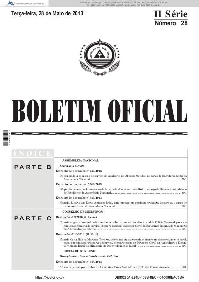 Documento descarregado pelo utilizador Adilson Varela (10.73.103.139) em 29-05-2013 08:48:27. © Todos os direitos reservad...
