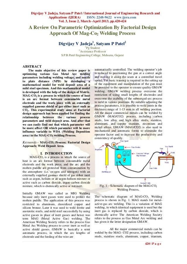 Digvijay V Jadeja, Satyam P Patel / International Journal of Engineering Research and                 Applications (IJERA)...