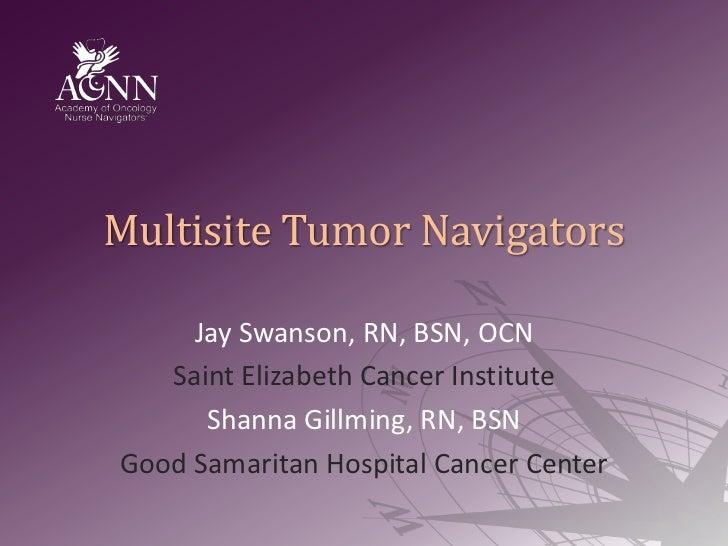 Multisite Tumor Navigators