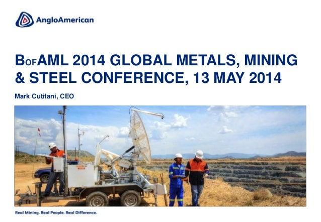 BoAML 2014 Global Metals, Mining & Steel Conference