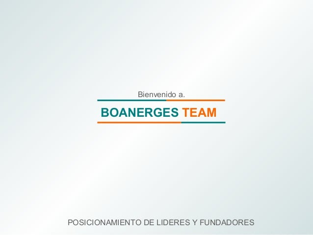 Boanerges team