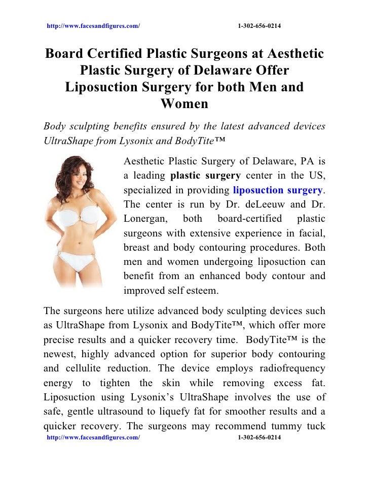 http://www.facesandfigures.com/                   1-302-656-0214Board Certified Plastic Surgeons at Aesthetic     Plastic ...
