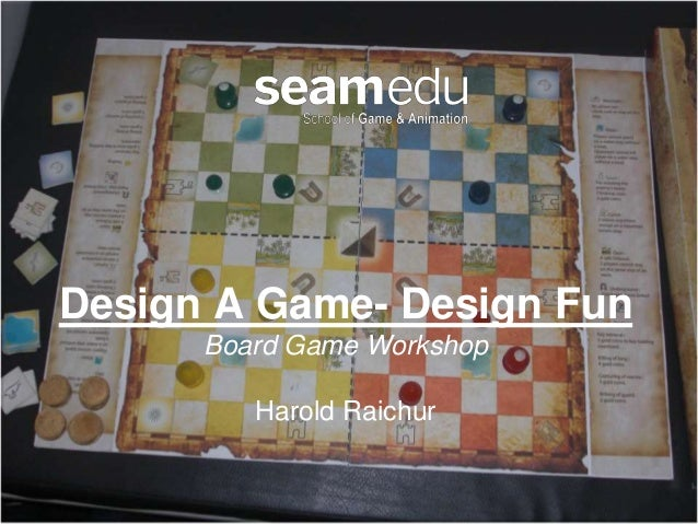 Board game work shop design fun-2014