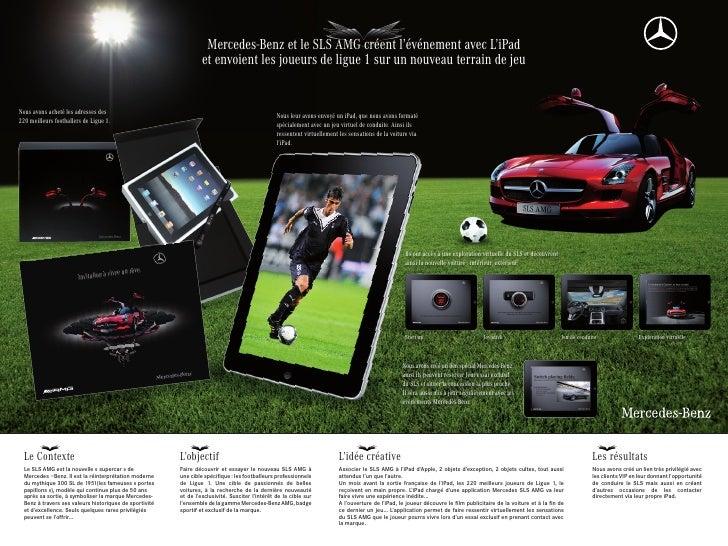 Mercedes-Benz et le SLS AMG créent l'événement avec L'iPad                                                                ...