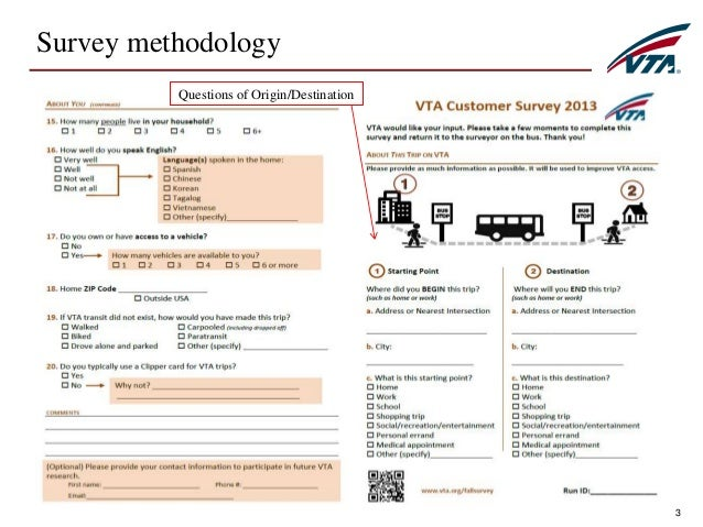 bus passenger satisfaction survey questionnaire pdf