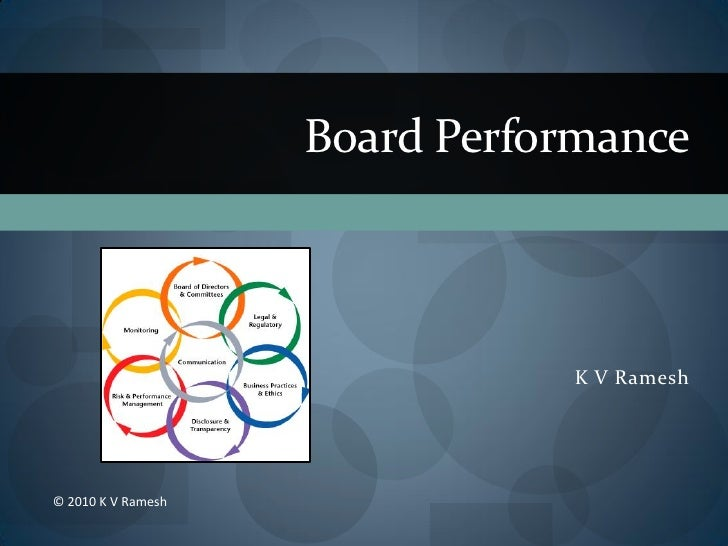 Board Performance