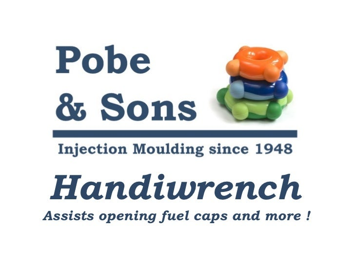 Handiwrench Assists opening fuel caps and more !