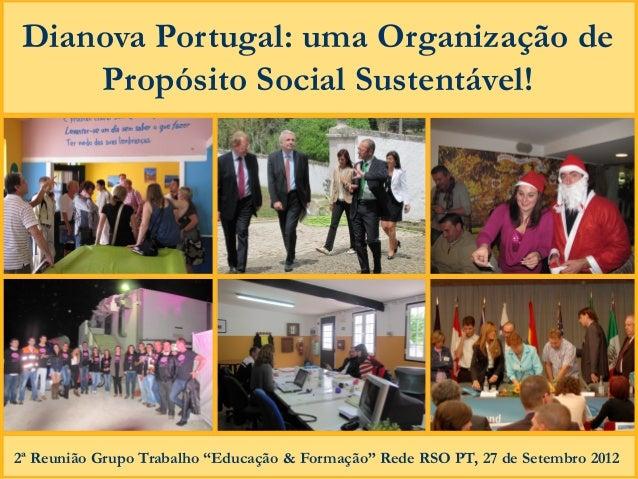 Boas praticas dianova rso 2012