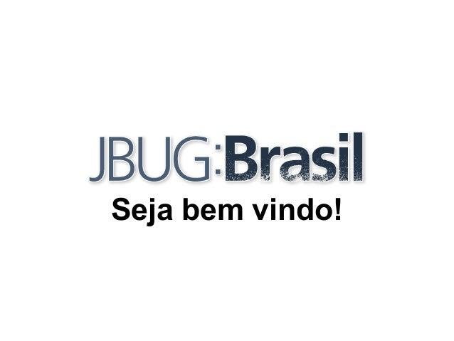 Boas vindas - JBUG:Brasil