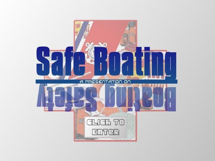 Boating Safety   Scott Morgan