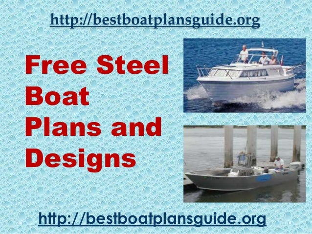 Free Steel Boat Plans and Designs