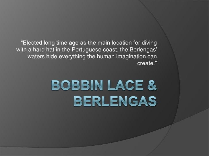 """""""Elected long time ago as the main location for diving with a hard hat in the Portuguese coast, the Berlengas'      waters..."""