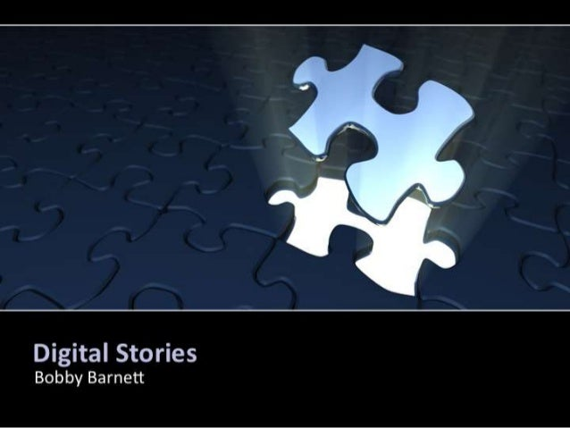 Bobby Barnett 'Digital Stories'
