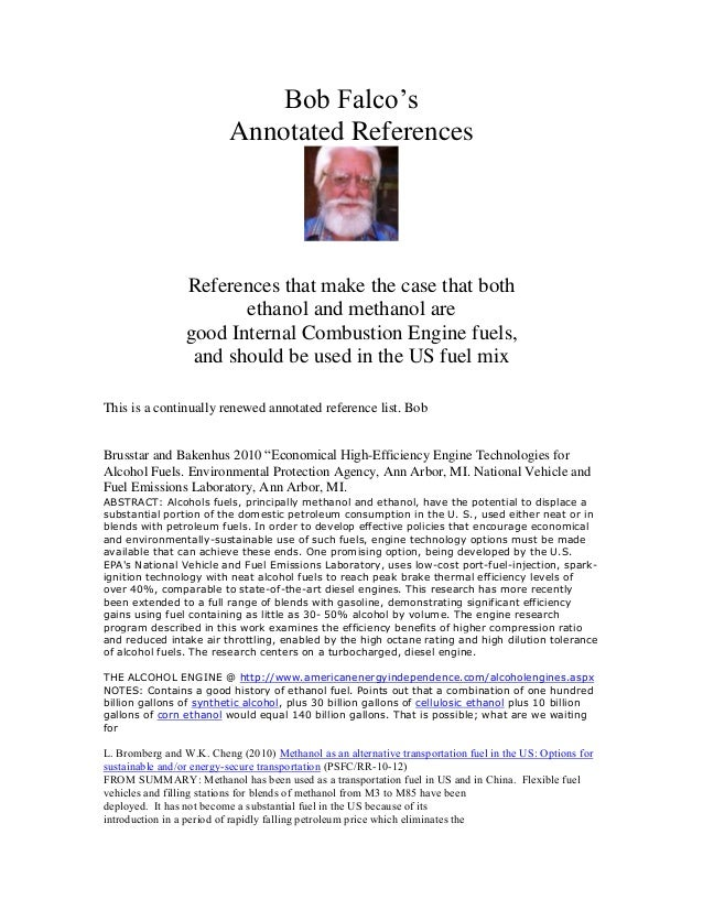 """Bob Falco""""s                          Annotated References                References that make the case that both          ..."""