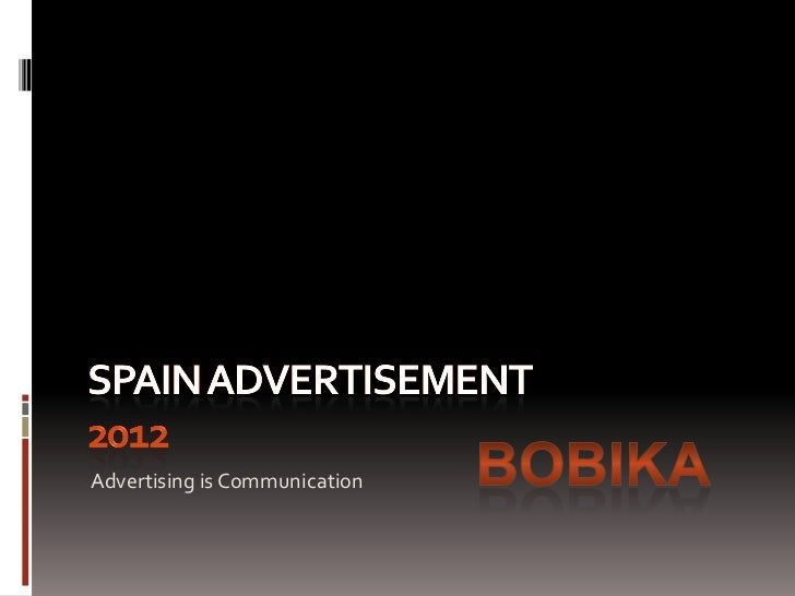 Advertising is Communication