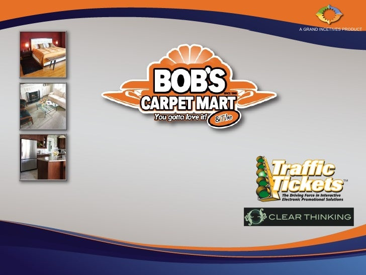 Bobs Carpet Mart Traffic Ticket Promotion