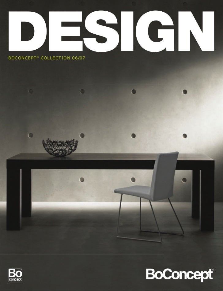 Bo concept interior design magazine 06 07 for Designs magazine
