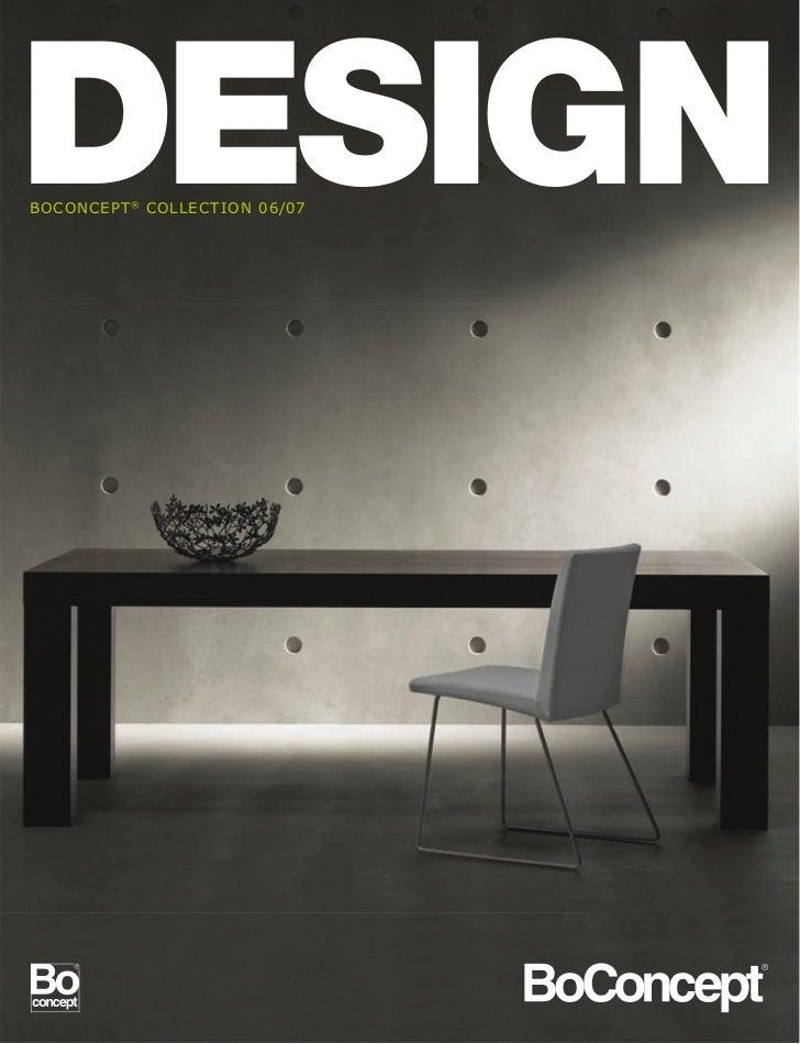 bo concept interior design magazine 06 07. Black Bedroom Furniture Sets. Home Design Ideas