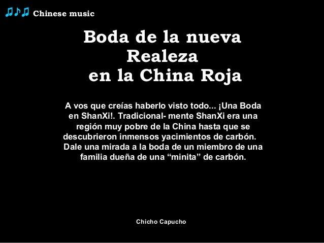 ♫♪♫   Chinese music                Boda de la nueva                    Realeza                en la China Roja            ...